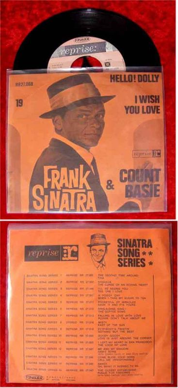 Single Frank Sinatra & Count Basie: Hello Dolly! (Reprise RR 27.068) NL