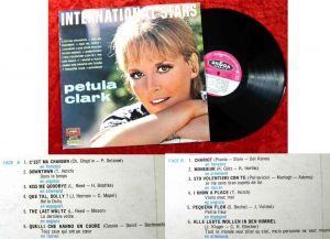 LP Petula Clark: International Stars (Vogue CLVLX 344) F 1966