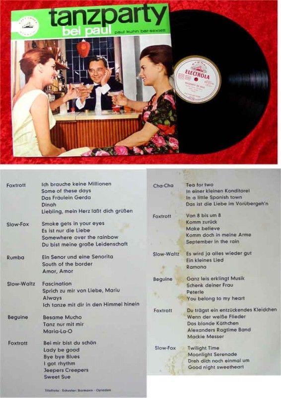 LP Paul Kuhn Tanzparty bei Paul Stereo