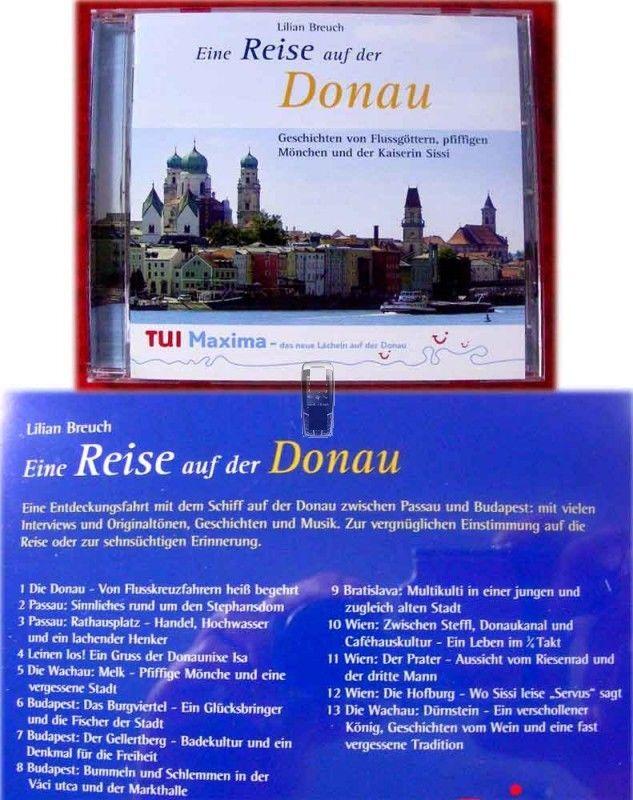 CD Eine Reise auf der Donau Geschichten von Flußgöttern
