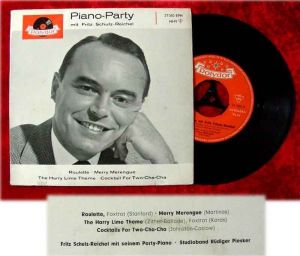 EP Fritz Schulz Reichel Piano Party 1960