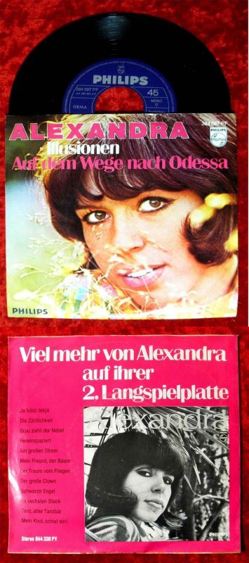 Single Alexandra: Illusionen (Philips 384 567 PF) D
