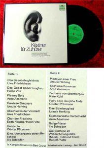 LP Kästner für Zuhörer - 16 Chansons