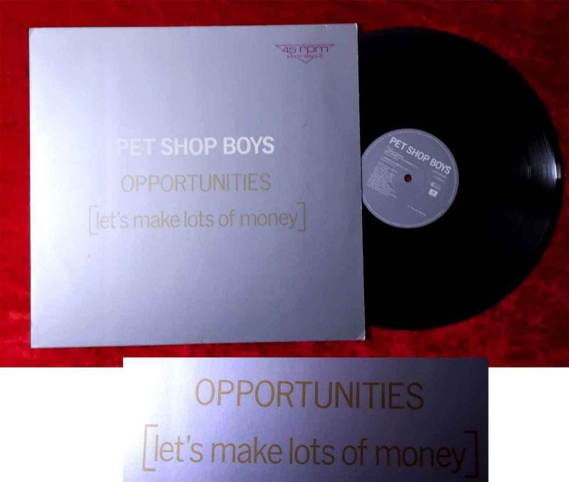Maxi Pet Shop Boys: Opportunities (Parlophone 1C K 060 20 1269 6) EEC 1986