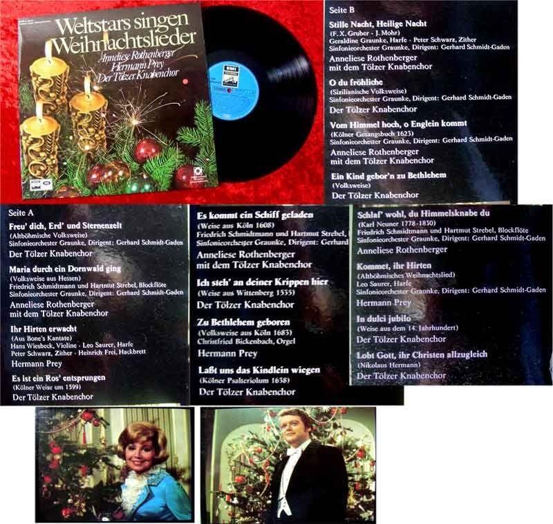 LP Weltstars singen Weihnachtslieder Tölzer Knabenchor Nr ...