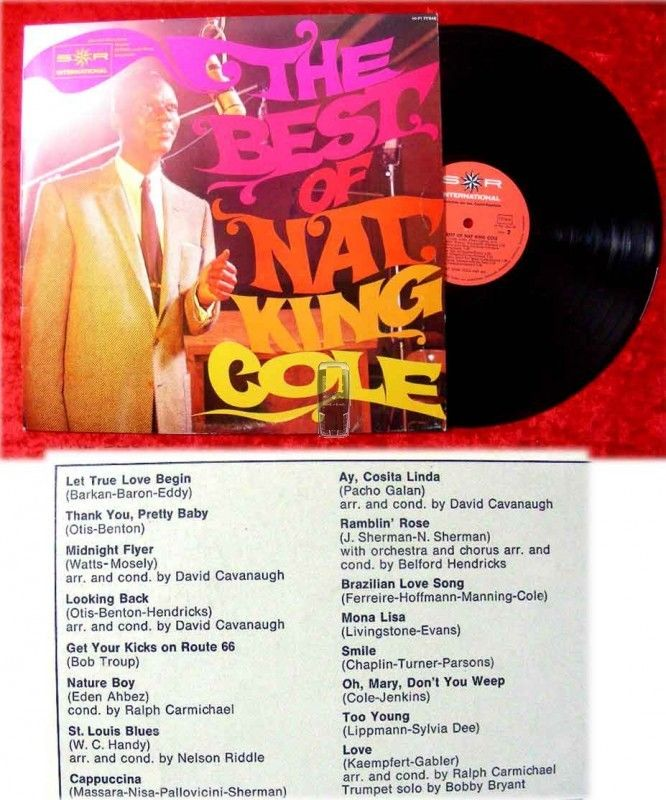 LP Nat King Cole: The Best Of... (Clubsonderauflage)