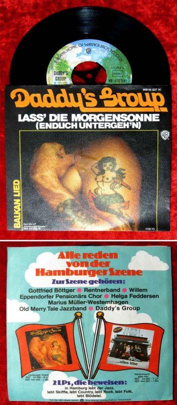 Single Daddy´s Group: Lass die Morgensonne (Endlich untergeh´n) (WEA 16 527) D