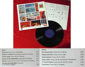 LP Bela Sanders: Große Tanzparty mit... (Philips 111 551 PY Stereo) D 1965