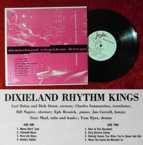 25cm LP Dixieland Rhythm Kings (Jazztone J-1025) US