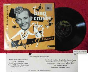 25cm LP Bing Crosby: Eine musikalische Autobiografie  /Brunswick 86 033 LPB) D54
