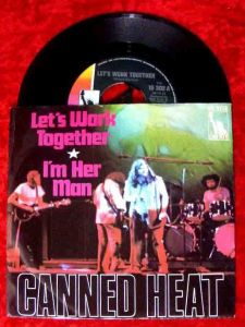 Single Canned Heat: Let´s Work Together (Liberty 15 302) D