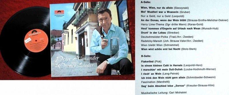 LP Peter Alexander singt Wiener Lieder