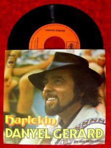 Single Danyel Gerard: Harlekin (CBS 7754) D