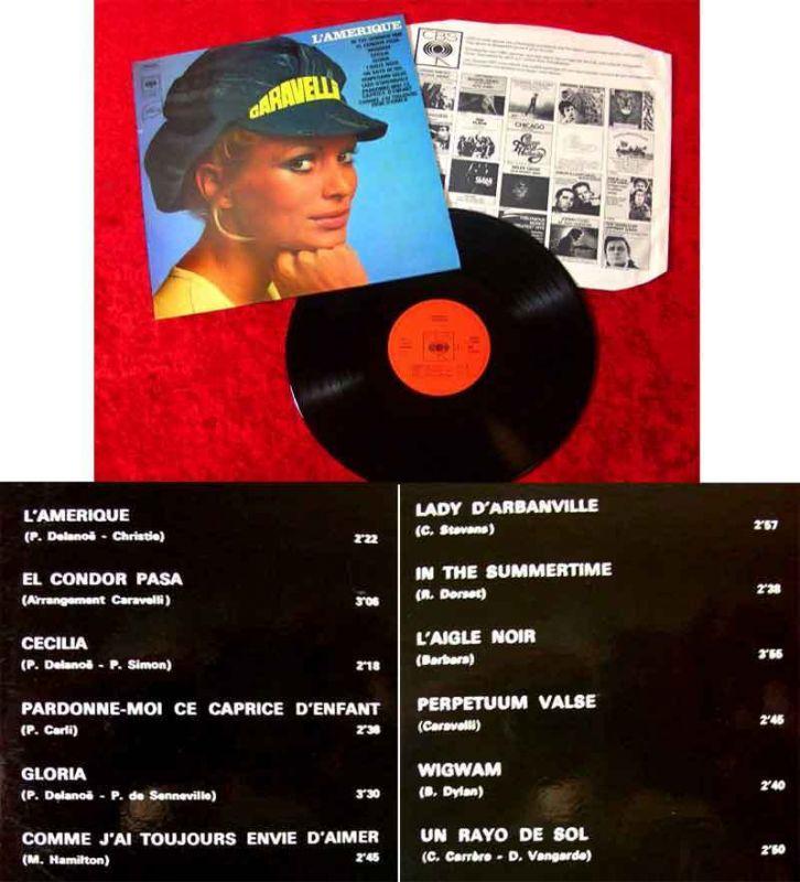 LP Caravelli: L`Amerique (CBS S 7-64205) NL 1970