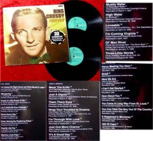 2LP Bing Crosby Forever 30 Evergreens and the Story of