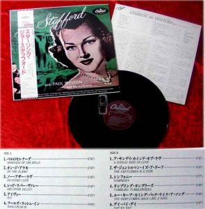 LP Jo Stafford Starring (Japan Pressung)