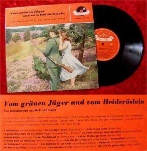 25cm LP Vom grünen Jäger und vom Heideröslein (Polydor 45 188 LPH) D 1958