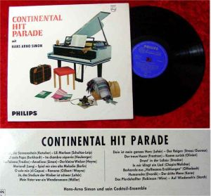 LP Hans Arno Simon: Continental Hit Parade