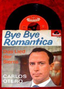 Single Carlos Otero Bye Bye Romantica