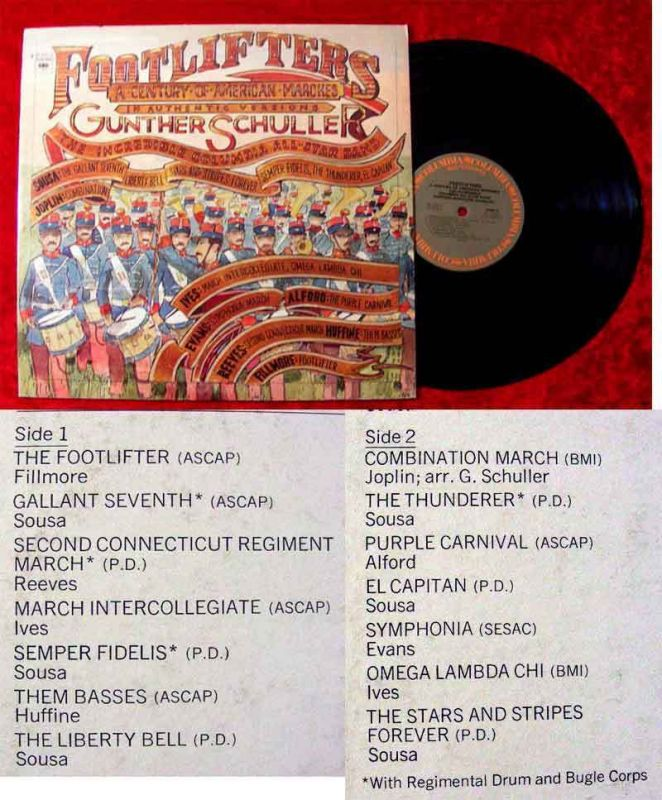 LP Gunther Schuller & Incredible Columbia All Star Band: Footlifters
