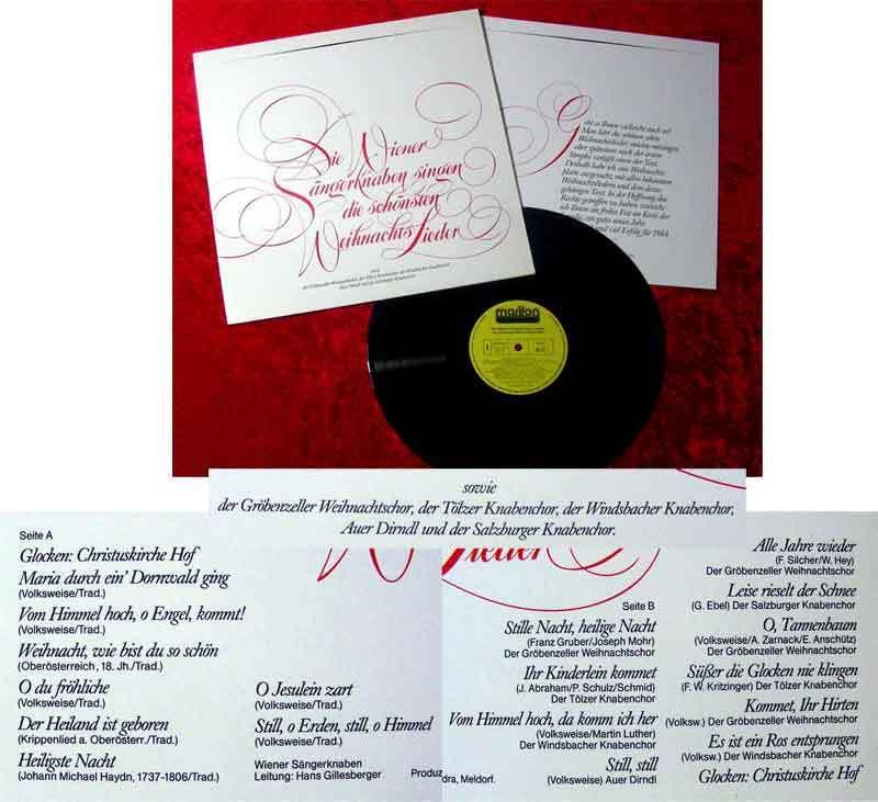 Die schönsten Weihnachtslieder Mozart Kinderchor Domorgel Nr ...