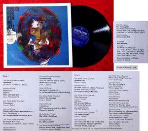LP Lyrik und Jazz Heinrich Heine - Attila Zoller (Philips Twen Serie 840 479 PY)