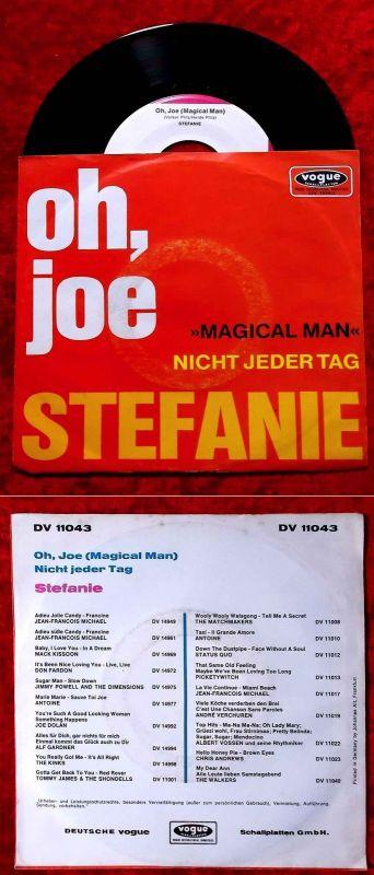 Single Stefanie: Oh, Joe  (Vogue DV 11043) D 1970