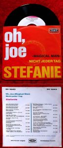 Single Stefanie: Oh, Joe  (Vogue DV 11043) D 1970