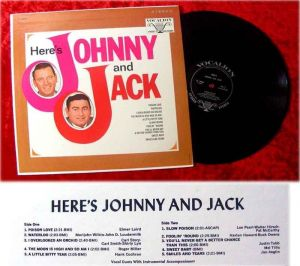 LP Johnny and Jack Here´s Johnny and Jack