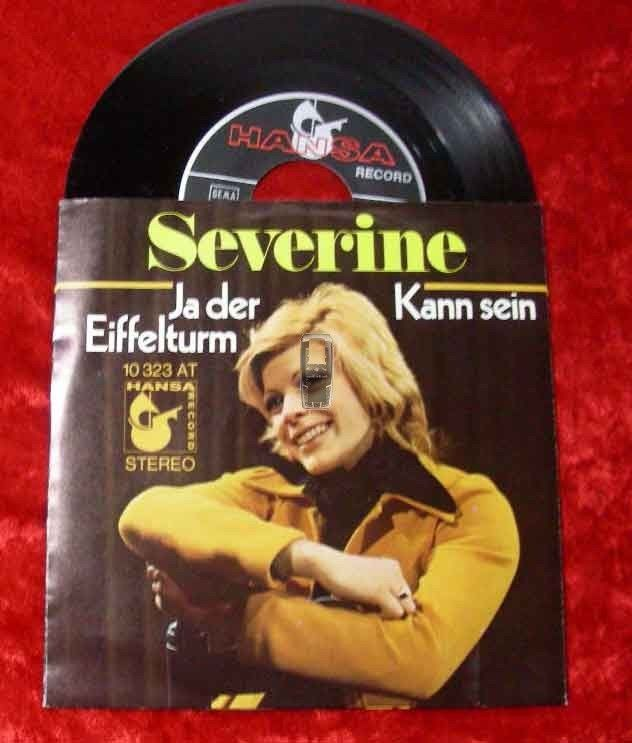 Single Severine: Ja der Eiffelturm