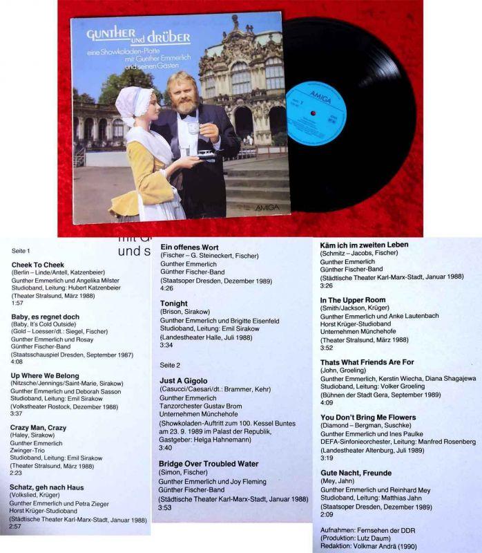 LP Gunther Emmerlich: Gunther und drüber - Showkoladen-Platte (Amiga 856 467)