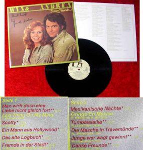 LP Wyn Hoop & Andrea Horn: Danke Freunde Signiert