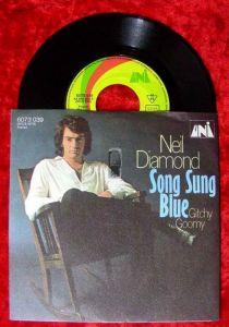 Single Neil Diamond: Song Sung Blue / Gitchy Goomy