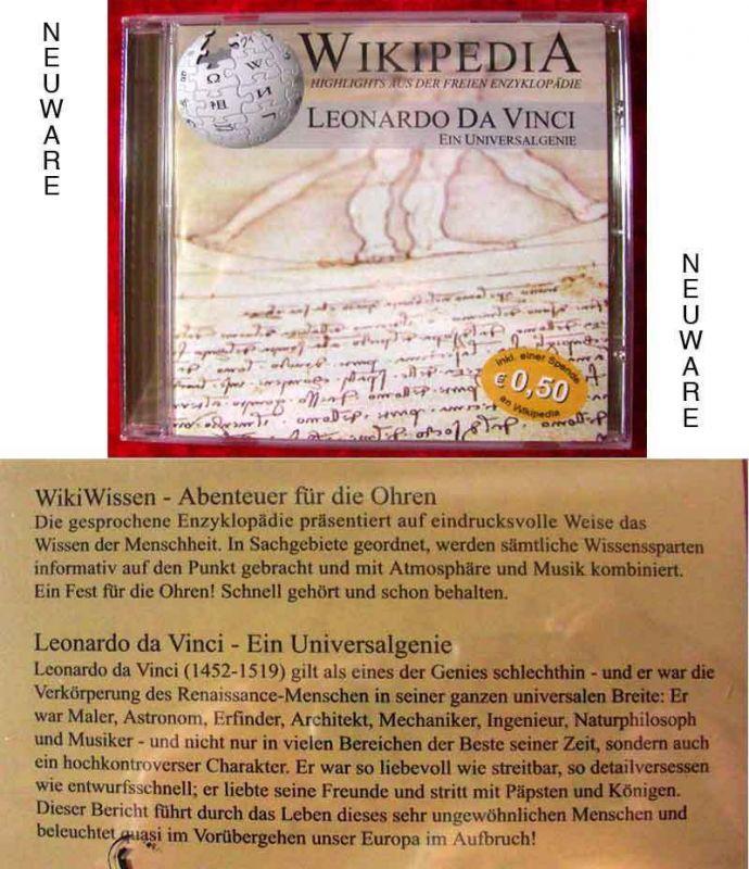 CD Leonardo da Vinci - das Universalgenie (Neuware)