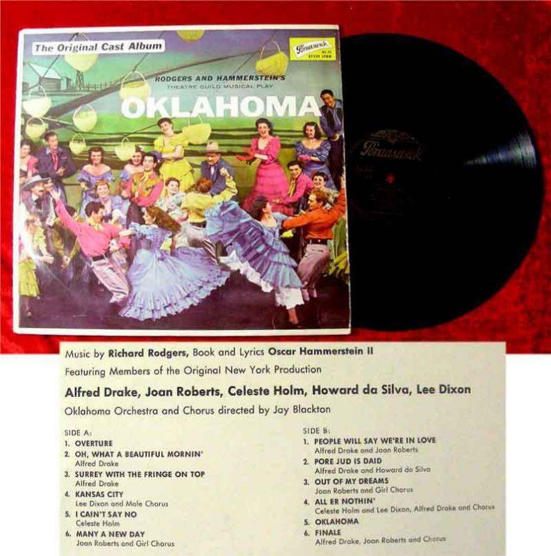 LP Oklahoma Alfred Drake Celeste Holm 1960