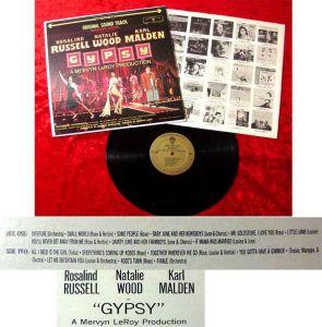 LP Gypsy w/ Rosalind Russell Natalie Wood Karl Malden 1962