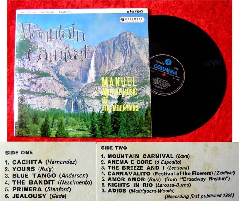 LP Manuel & The Music of the Mountains Mountain Carniva