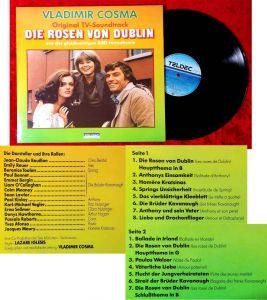 LP Rosen von Dublin - TV Soundtrack - Vladimir Cosma  (Teldec 625573 AP) D 1983
