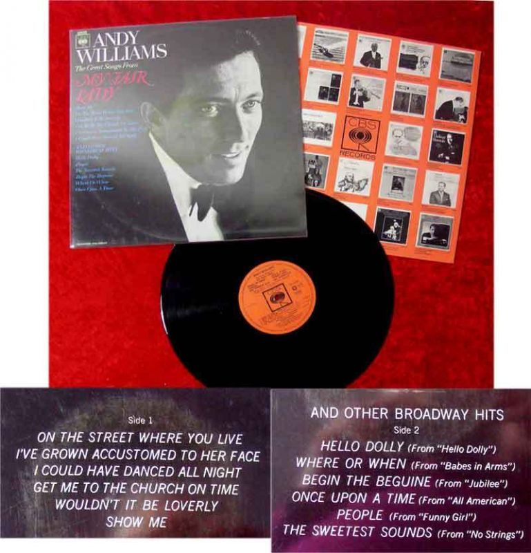 LP Andy Williams: Great Songs from My Fair Lady