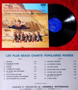 LP Chor & Orchester de Ensemble Matrioschka: Les Plus Beaux Chants Populaires...