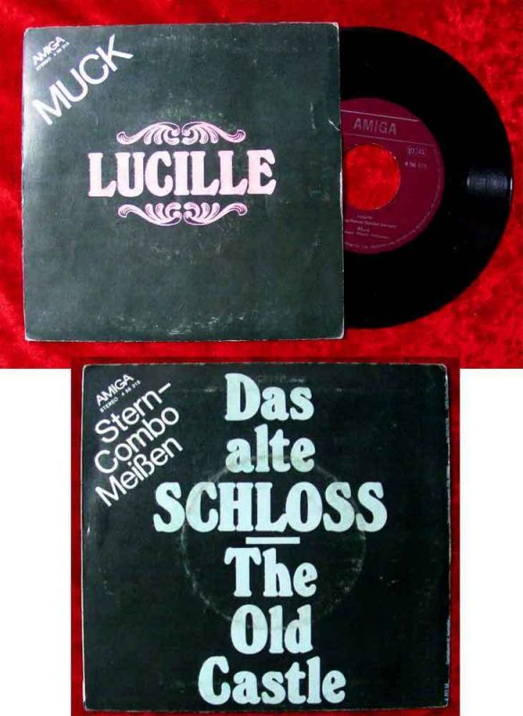 Single Muck: Lucille / Stern Combo Meißen: Das alte Schloss (Amiga 456 315) DDR
