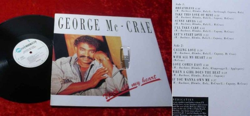 LP George McCrae: With all my heart
