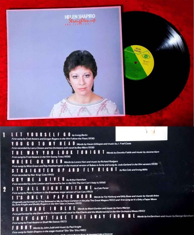 LP Helen Shapiro: Straighten Up and fly right (Oval OVLP 507) UK 1983