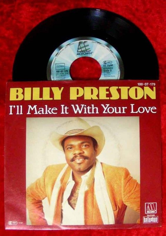 Single Billy Preston Ill Make it with your love