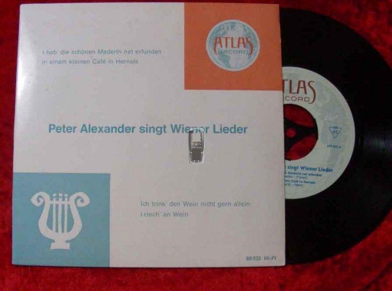 EP Peter Alexander singt Wiener Lieder