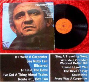LP Johnny Cash Hello Im Johnny Cash
