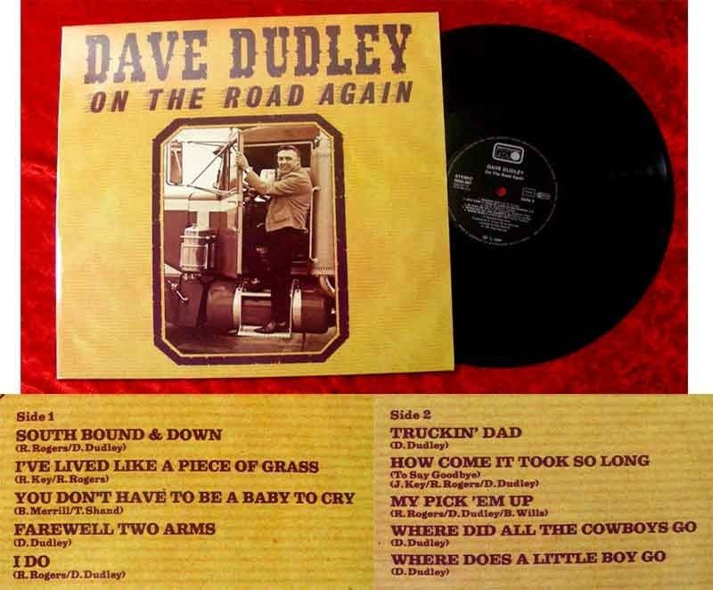 LP Dave Dudley On the Road Again