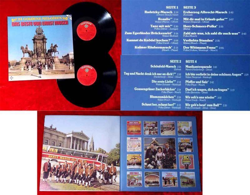 2LP Ernst Mosch: 24 goldene Melodien - Das Beste von Ernst Mosch (Telefunken) D