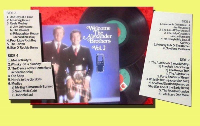 2LP Alexander Brothers: Welcome Vol. 2