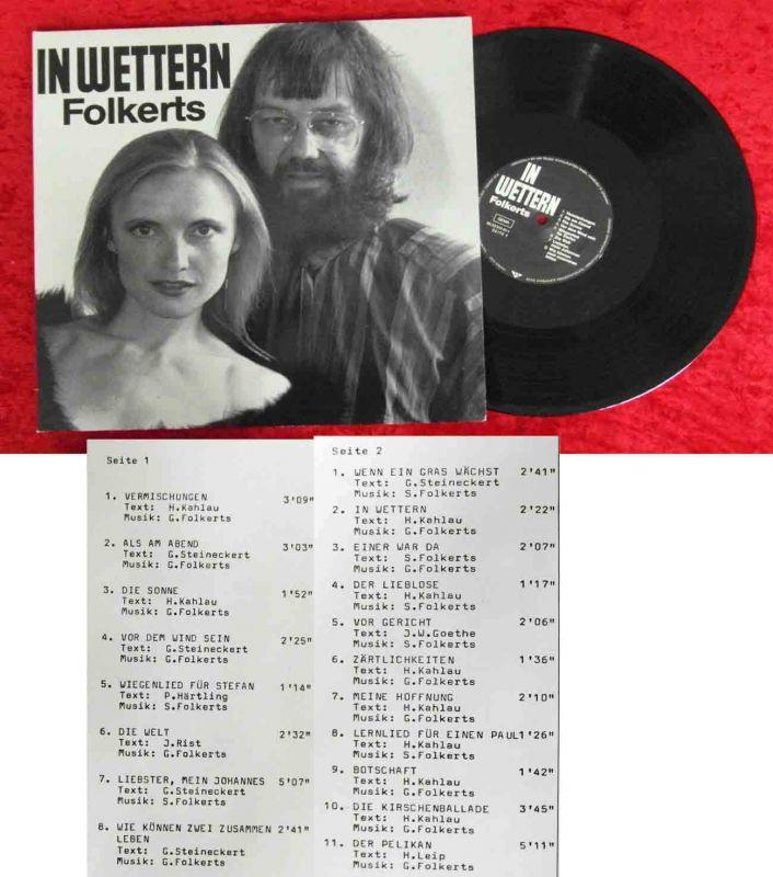 LP Folkerts: IN Wettern (Teldec 66.23513) D